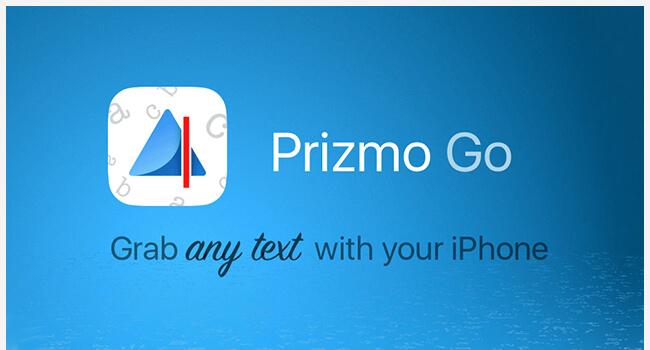 IT hjælpemidler og apps til ordblinde - Prizmo Go