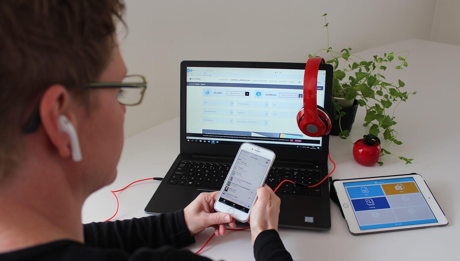 Hjælp til Ordblinde ved Randi Hedelund Jeppesen - Kurser, foredrag og IT-Hjælpemidler